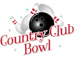 Country Club Bowl | Kids Birthday Party, Company Party, Bowling Party Logo